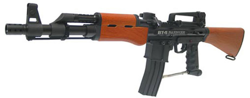 BT BT-4 Banshee Paintball Gun - Woodgrain